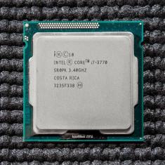 Procesor Intel Quad Core I7 3770  3.4Ghz/Turbo 3.9Ghz Ivy Bridge socket 1155, Intel Core i7, 4