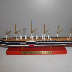 Macheta vas de linie SS Great Eastern scara 1:1250, Alta
