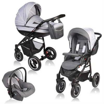 Carucior Crooner 3 In 1 - Vessanti - Gray foto