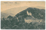 243 - BRAN, Brasov, Dracula Tower, Romania - old postcard - used - 1911, Circulata, Printata