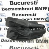 Husa,manson piele perforata M frana de mana BMW E90,E91,E92,E93