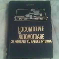 Locomotive si automotoare cu motoare cu ardere interna-Prof.Ing.I.Zaganescu