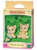 Set Figurine Sylvanian Families Chihuahua Dog Twins, Sylvanian Families