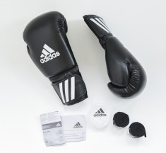 Manusi Box Adidas 8 oz cu Fase si Proteza - Noi si Originale foto