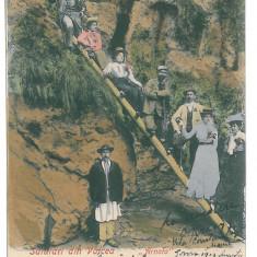 3592 - ARNOTA, Valcea, Romania - old postcard - used - 1902, Circulata, Printata