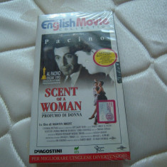 Caseta video originala VHS - SCENT OF A WOMAN, 1992, provenienta ITALIA, Italiana