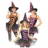 Rochita Halloween - Mica Vrajitoare pentru Adolescente, S/M, Multicolor