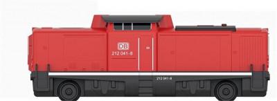 Locomotiva Diesel Cu Telecomanda Br 212 foto