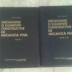 Mecanisme si elemente constructive de mecanica fina I-II-Prof.Dr.Ing.Tr. Demian, Alta editura, Petru Dumitriu