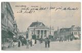 3949 - ORADEA, Market, Romania - old postcard - used - 1915, Circulata, Printata