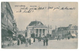 3949 - ORADEA, Market, Romania - old postcard - used - 1915