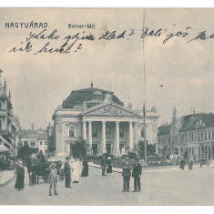 3949 - ORADEA, Market, Romania - old postcard - used - 1915