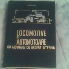 Locomotive si automotoare cu motoare cu ardere interna-Prof.Ing.I.Zaganescu, Alta editura, Petru Dumitriu