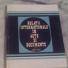 Relatii internationale in acte si documente-II-1939-1945)-Al.Vianu...