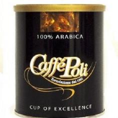 Cafea macinata Arabica 100% 250 gr CaffePoli