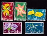 Barbados 1970 flori  MI 317-321  MNH w53