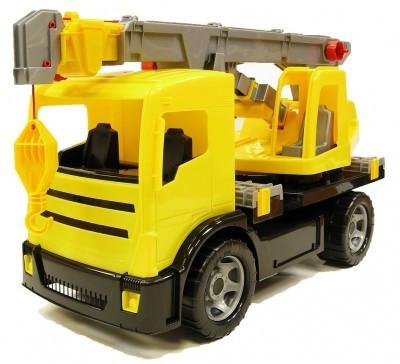 Camion Cu Macara Gigant Plastic 70Cm foto
