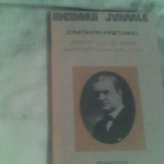 Pentru cei de maine-Amintiri din vremea celor de ieri-vol 1,partea1.pana la 1888