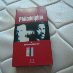 Caseta video originala VHS cu filmul Philadelphia -Tom Hanks, Denzel  Washington