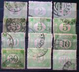 ROMANIA- Timbre taxa de plata