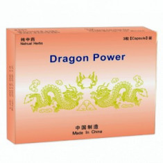 DRAGON POWER   3 PASTILE POTENTA,ERECTIE,EJACULARE PRECOCE,PREMATURA,IMPOTENTA,