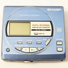 SHARP MD-MT20 mini disc minidisc walkman recorder, Sony