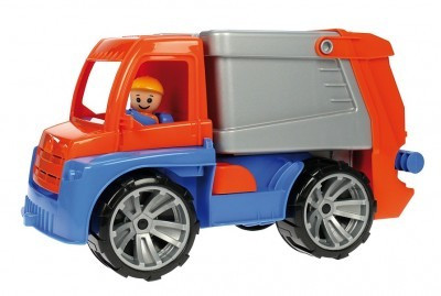 Masina De Gunoi Din Plastic Cu Figurina 29 Cm Truxx foto