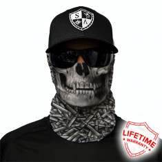 Bandana/Face Shield/Cagula/Esarfa - Hollow Head, made in USA