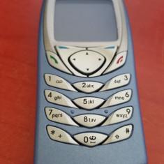Telefon Nokia 6100 albastru impecabil 10/10 necodat, Nu se aplica, Neblocat