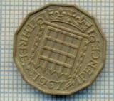 11495 MONEDA - MAREA BRITANIE - THREE PENCE - ANUL 1967  -STAREA CARE SE VEDE