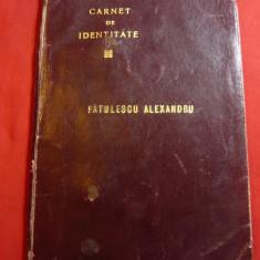 Carte de Identitate emisa de Primaria sectorului 3-albastru 1931cu semnat.Primar