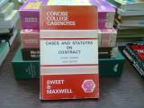 Cases and statutes on contract - Rodney Brazier (Cazuri și statute contractuale)