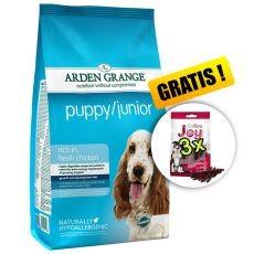 ARDEN GRANGE Puppy / Junior rich in fresh chicken, 12 kg