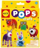 Pops Craft Amicii Din Padure - Alextoys (Ax1304-5), Alex Toys