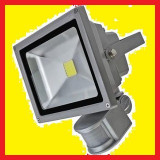 Proiector led cu senzor, ultra bright, 30 w, 6500k, ip 65