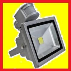 Proiector led, 20 W, cu senzor, ultra bright, 6500k, ip 65