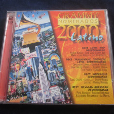Various - Grammy Nominados 2000 Latino _ dublu cd _ Grammy ( Europa,2000)