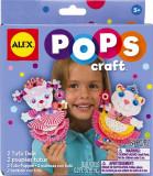 Pops Craft Doua Papusi Tutu Din Hartie Alextoys (Ax1191-5), Alex Toys