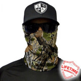 Bandana/Face Shield/Cagula/Esarfa - Forest Camo Dregs , made in USA, Din imagine