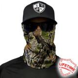 Bandana/Face Shield/Cagula/Esarfa - Forest Camo Dregs , made in USA