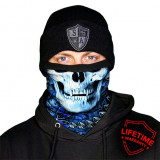 Thermal Fleece FaceShield - Hydro Skull , captusite cu lana, made in USA, Din imagine