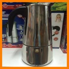 Expresor Cafea Manual Pentru Aragaz, 6 cesti Bohmann BH-9506
