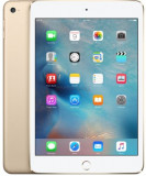 Tableta Apple iPad Mini 4, Procesor Dual-Core 1.5GHz, Retina Display LED 7.9inch, 2GB RAM, 128GB Flash, 8MP, Wi-Fi, 4G, iOS (Auriu), 7.9 inch, 128 GB