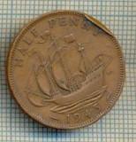 11486 MONEDA - MAREA BRITANIE - HALF PENNY - ANUL 1943 -STAREA CARE SE VEDE, Europa