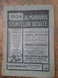 Almanahul stiintelor oculte 1928, 1933, 1934 si 1935