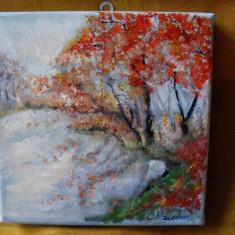 Peisaj 11-pictura ulei pe panza;, Peisaje, Altul