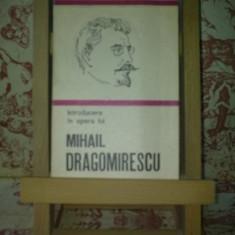 """Leonida Maniu - Introducere in opera Mihail Dragomirescu """"A1910"""""""