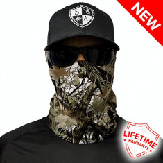 Bandana/Face Shield/Cagula/Esarfa - Snow Camo , made in USA