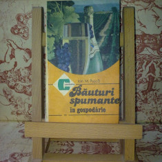 "Ion M. Pusca - Bauturi spumante in gospodarie ""A1896"""