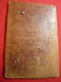 Legitimatie CFR 1935  Al.Fatulescu Sef Cabinet Finante